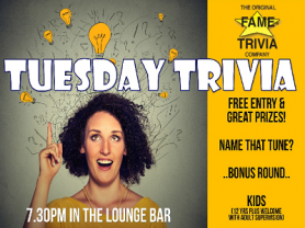 Tuesday Trivia in Newport