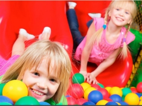 2-For-1 Entry + Free Zooper Doopers: $10, Cheeky Monkeys Playhouse, Think Local Deals