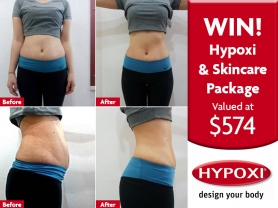 WIN: 6 Hypoxi Sessions & Rodan and Fields Package